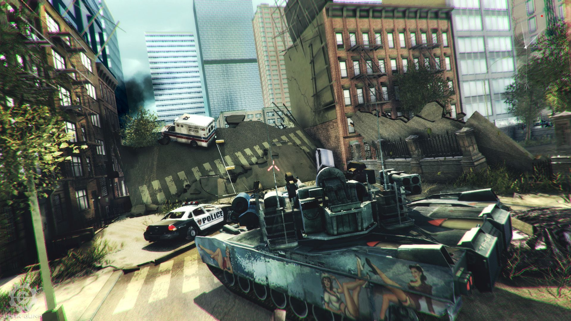 GEARGUNS - Tank offensive | PC | RePack от Saverneo