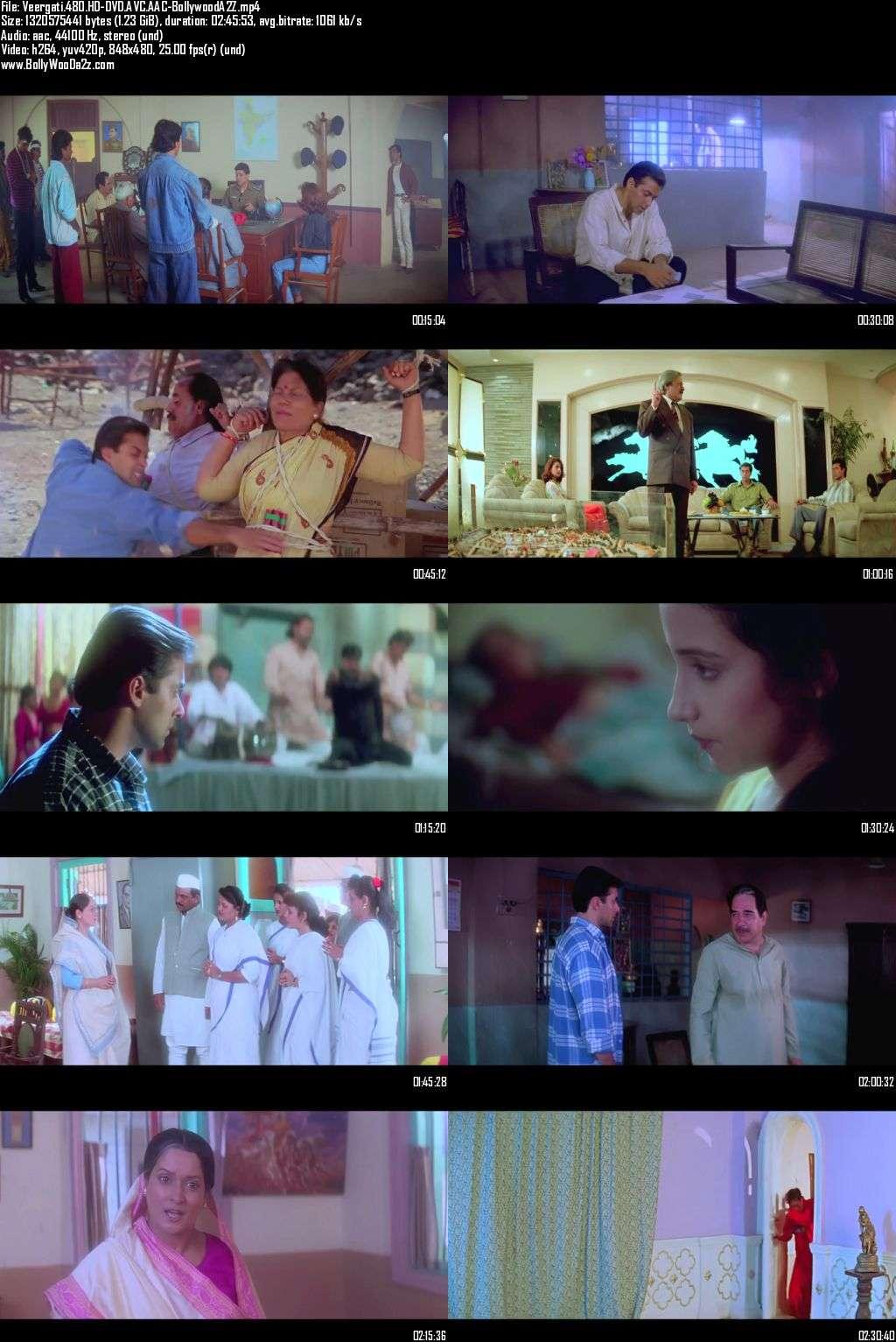 Veergati (1995) 720p - HD-DVDRip - AVC - AAC-Bollywooda2z