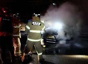 술 취해 에어컨 켜놓고 잠든 차량서 불..20대 연기에 질식(종합)