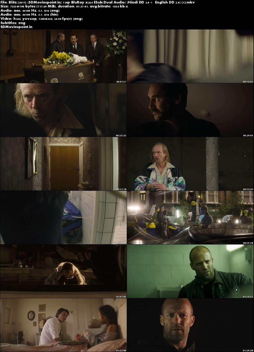 Screen Shots Blitz 2011 HD Movie Trailer Full Movie Download Free Dual Audio