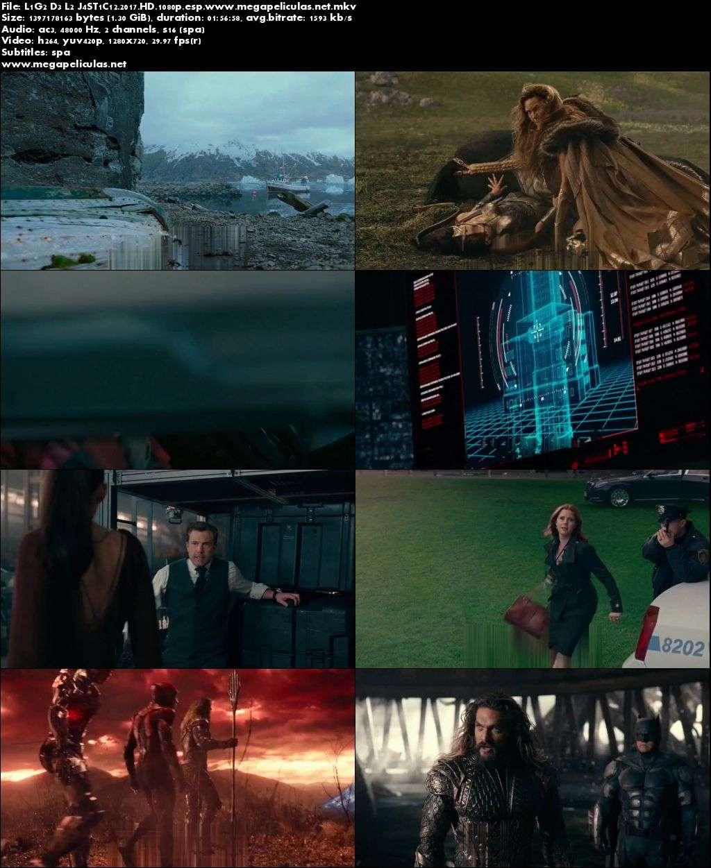 Capturas de Liga De La Justicia (2017) [HDRip 1080p][Latino]