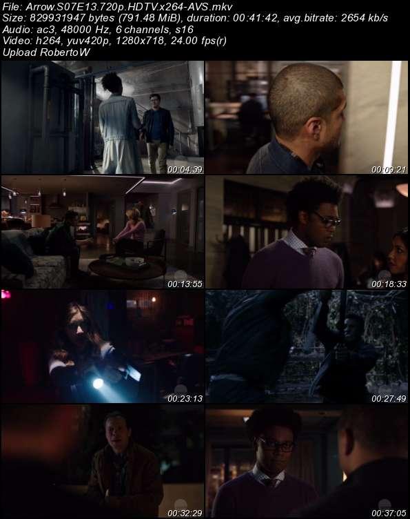 Arrow S07E13 720p