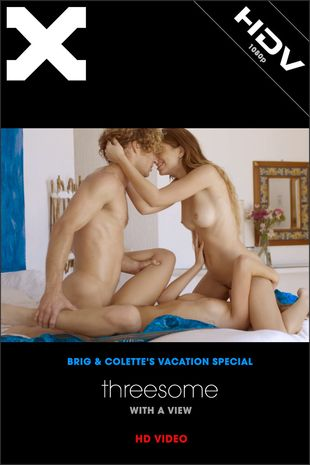 X-Art.com - Joseline, Leah Gotti - Threesome With a View | HDRip 1080p