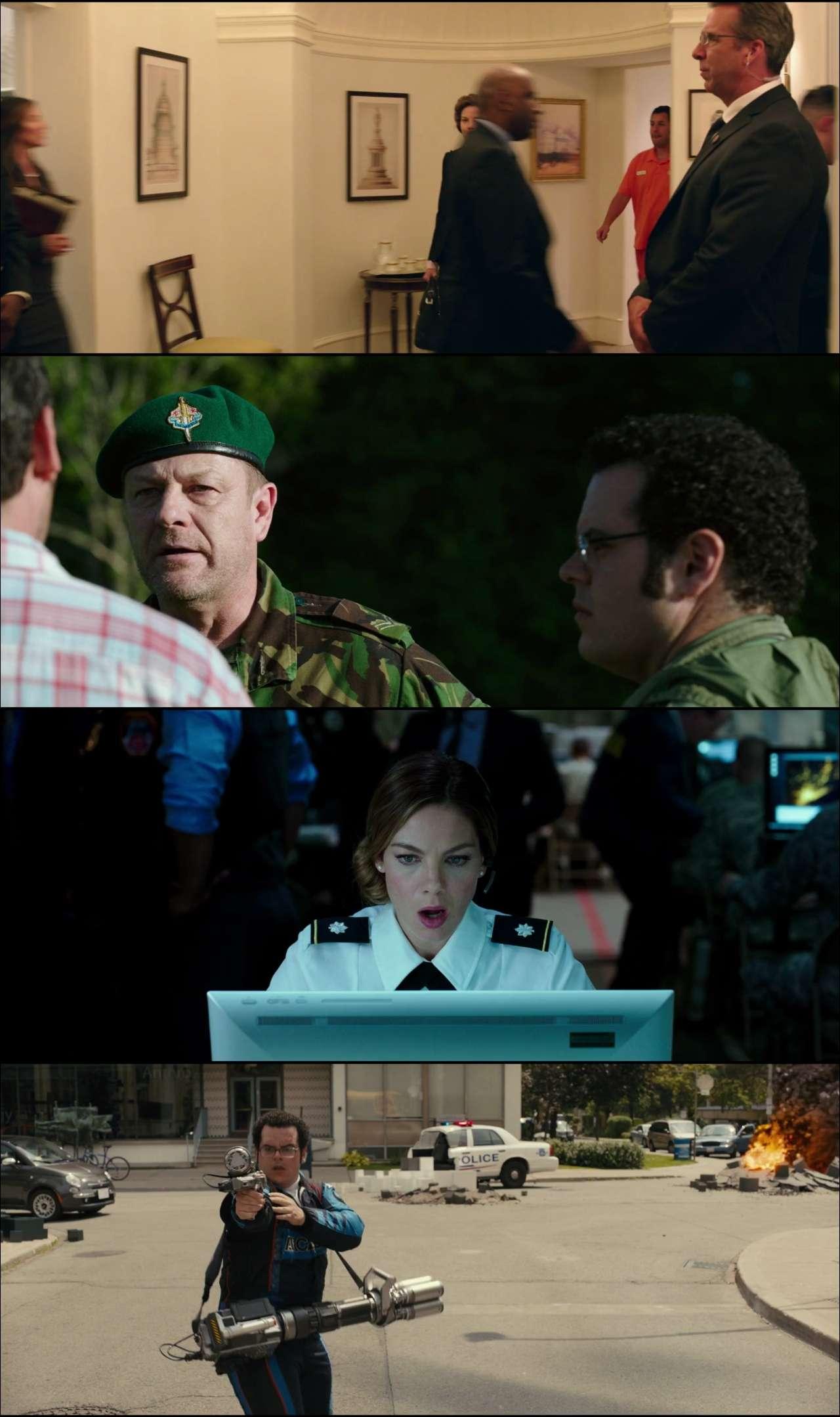 Pixels (2015) türkçe dublaj hd film indir