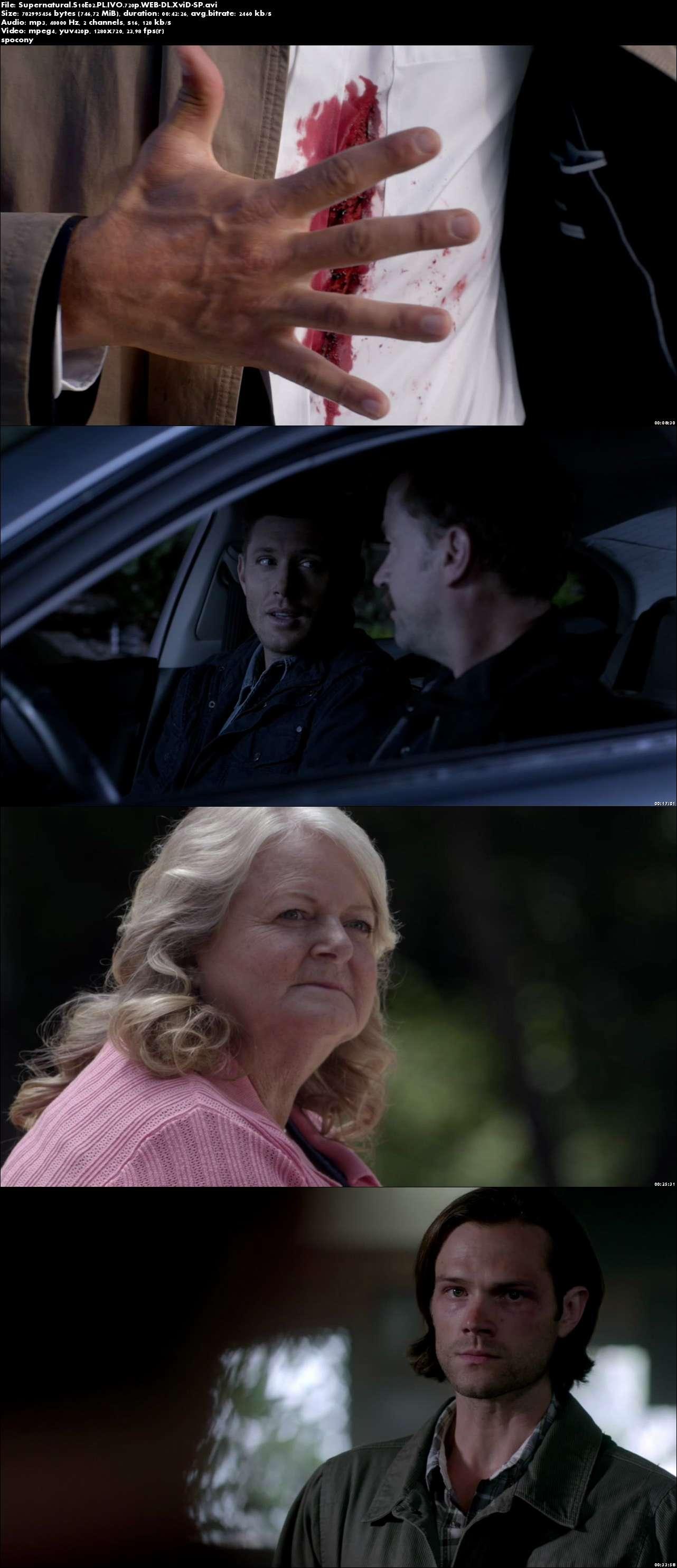 Nie z tego świata / Supernatural (2014) {Sezon 10} (Pełen sezon) PL.IVO.720p.WEB-DL.XviD-SP [Lektor PL-IVO]