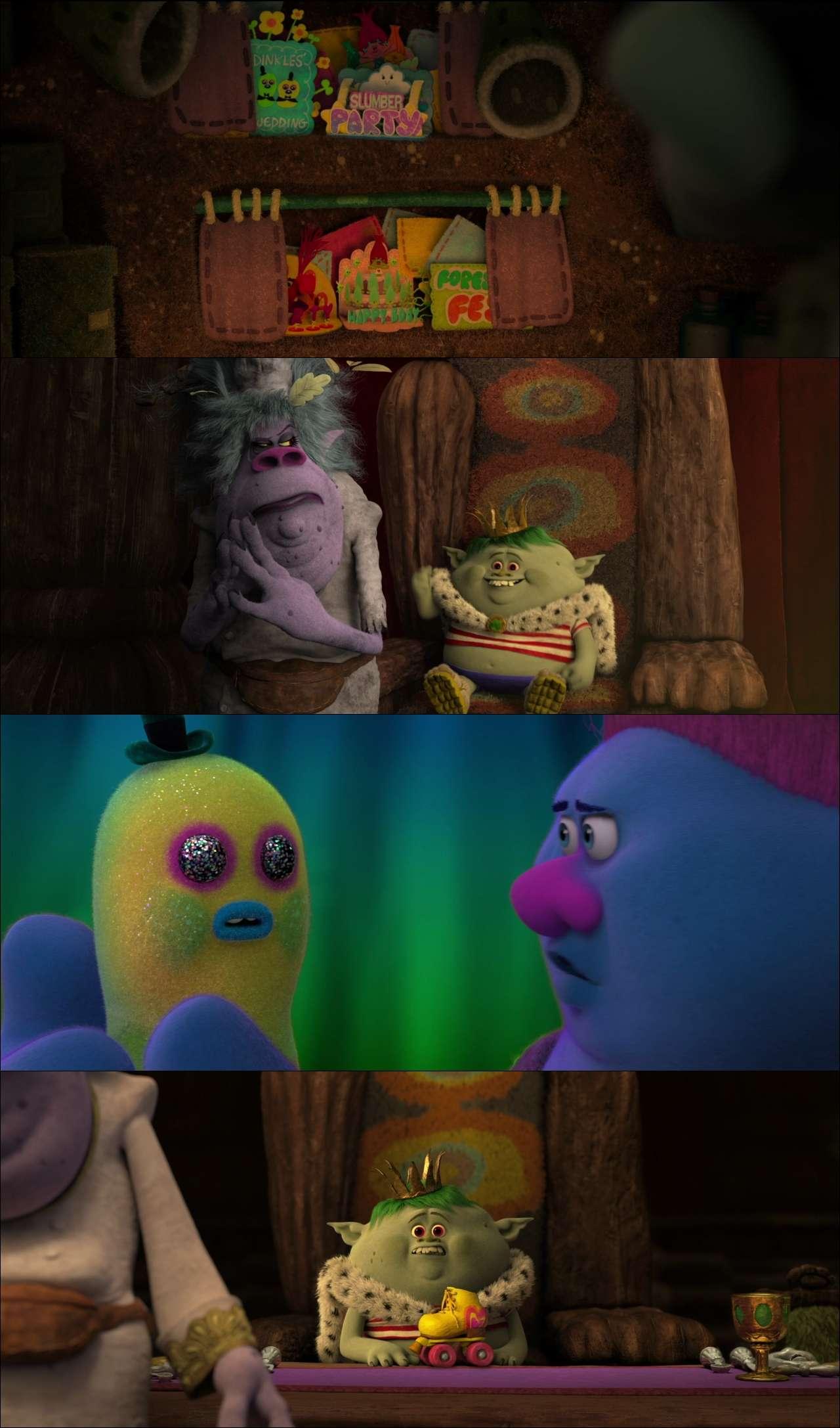 Troller - Trolls (2016) türkçe dublaj animasyon film indir
