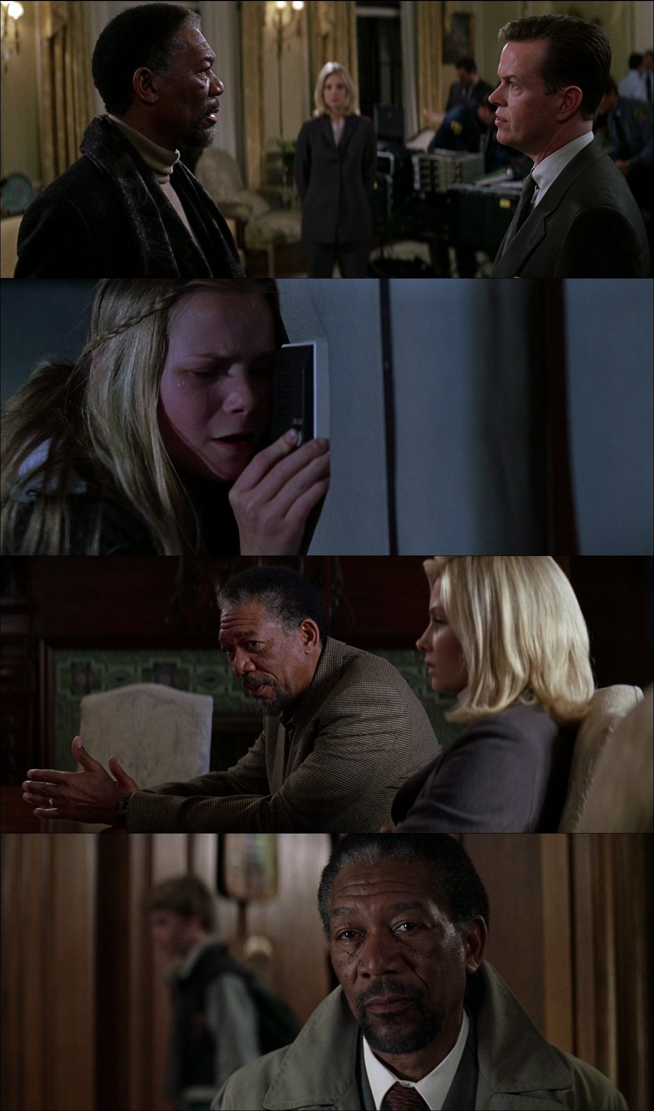 Örümceğin Maskesi - Along Came a Spider (2001) full türkçe dublaj film indir