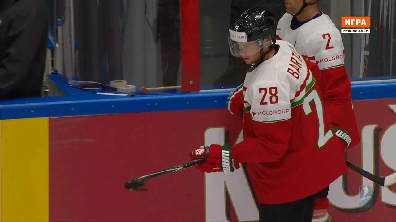 Хоккей. Чемпионат мира 2016. Группа B. 6 тур. Венгрия - Беларусь [14.05] | HDTVRip 720p | 50fps