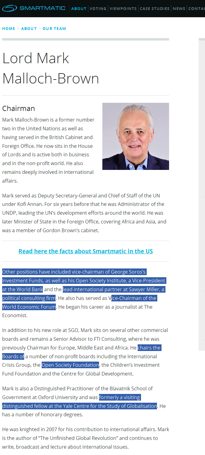 george soros owns voting machine company