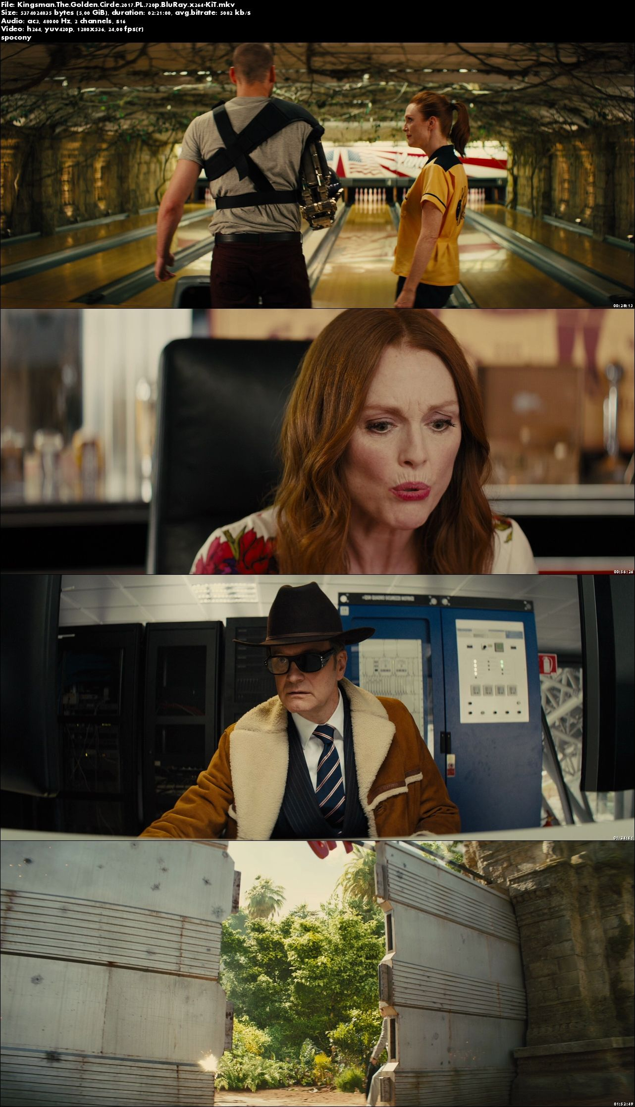 Kingsman: Złoty krąg / Kingsman: The Golden Circle (2017) PL.720p.BluRay.x264-KiT [Lektor PL]