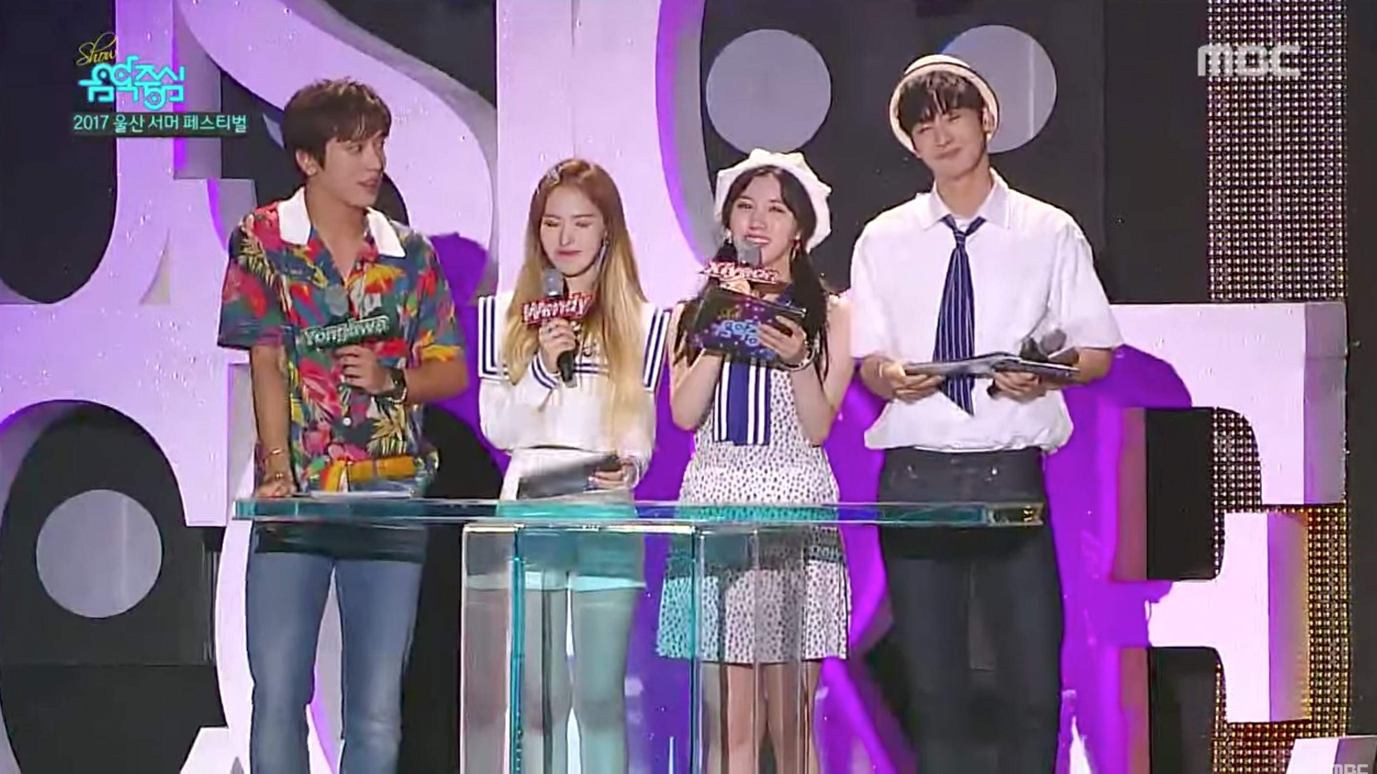 "Watch: EXO, BLACKPINK, Red Velvet, And More Perform On ""Summer Festival"" Episode Of ""Music Core"""