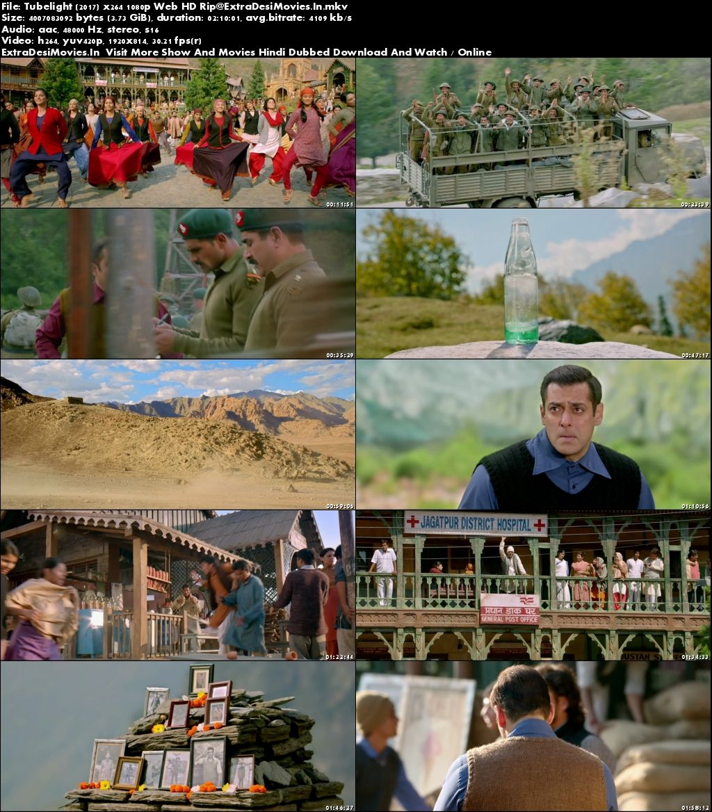 Tubelight 2017 Full Hindi Movie 1080p HDRip Download 3.7GB