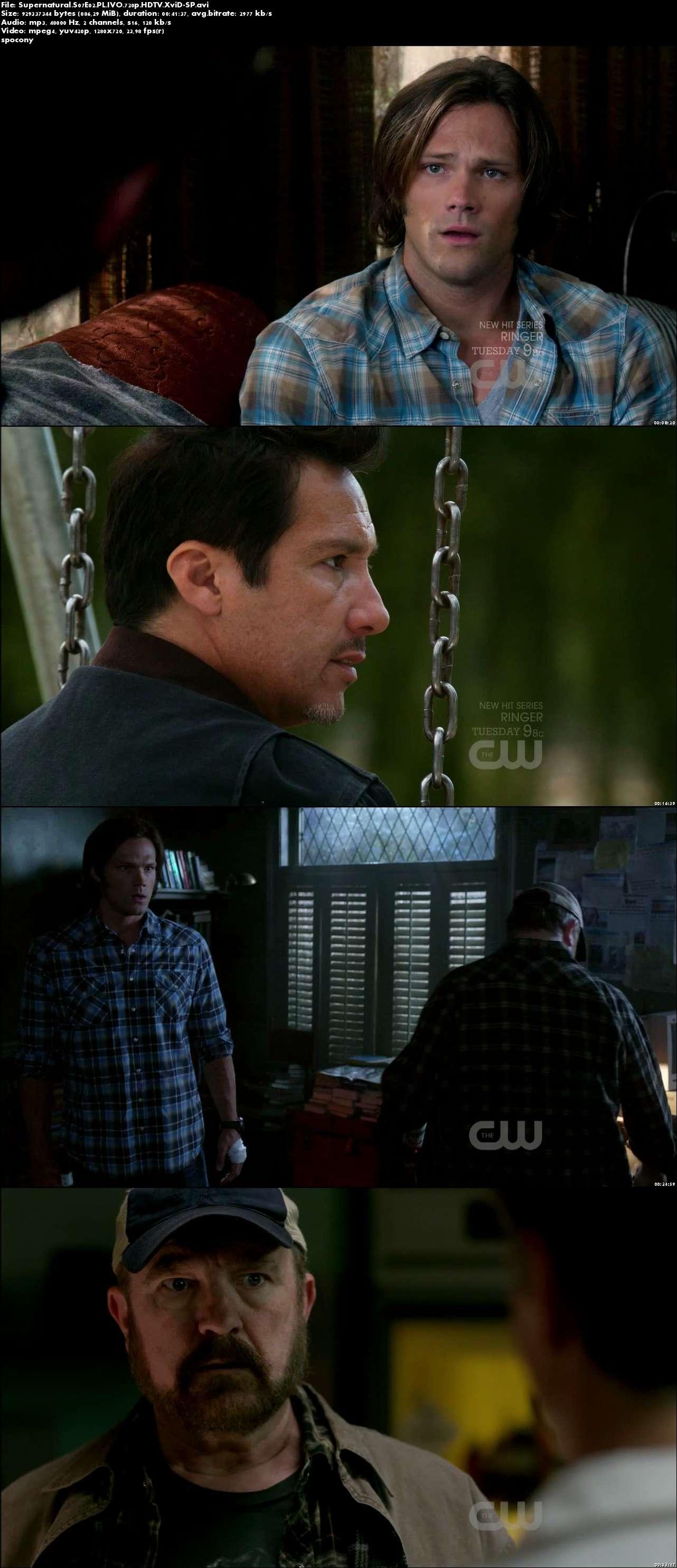 Nie z tego świata / Supernatural (2011) {Sezon 7} (Pełen sezon) PL.IVO.720p.HDTV.XviD-SP [Lektor PL-IVO]