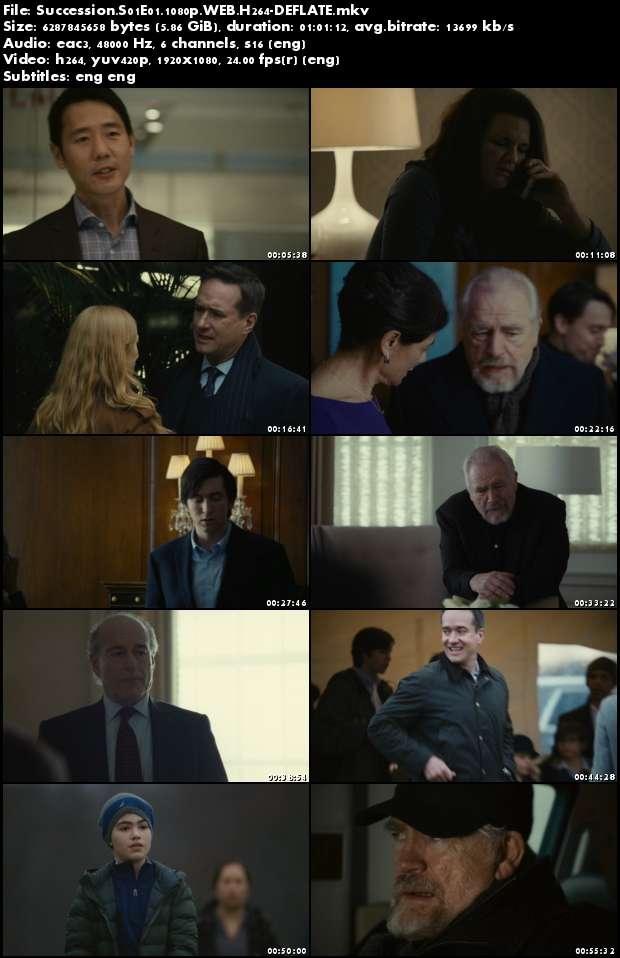 Succession S01E01 1080p