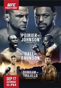 Смешанные единоборства - UFC Fight Night 94: Poirier vs. Johnson | WEB-DLRip