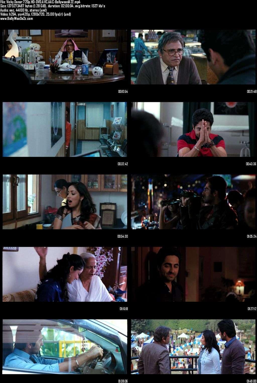 Vicky Donor (2012) 720p - HD-DVDRip - AVC - AAC-Bollywooda2z