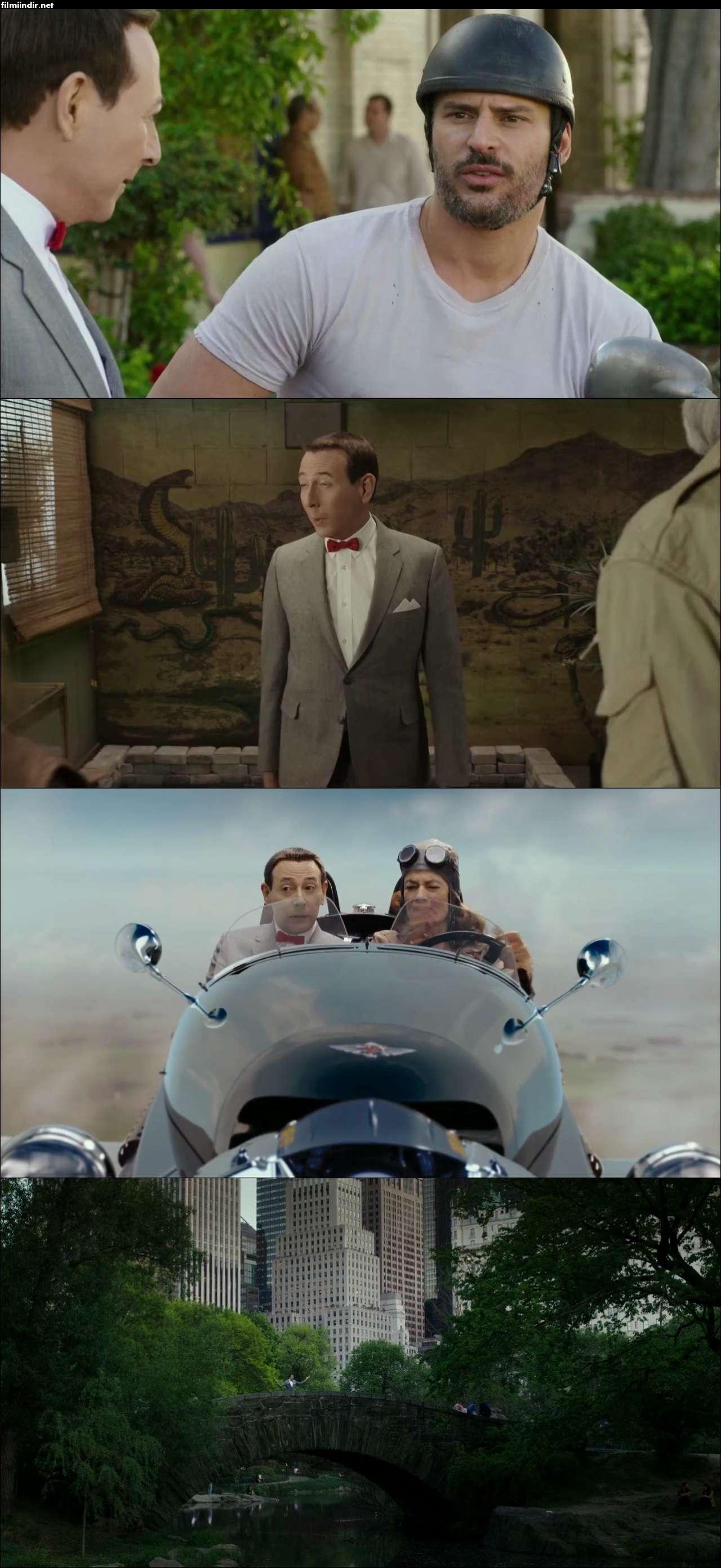 Pee-wee's Big Holiday (2016) türkçe dublaj film indir