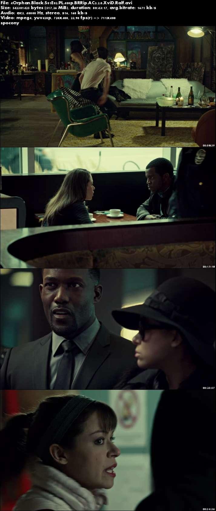 Orphan Black (2013) {Sezon 1} (Pełen sezon) PL.480p.BRRip.AC3.2.0.XviD.Ralf [Lektor PL]