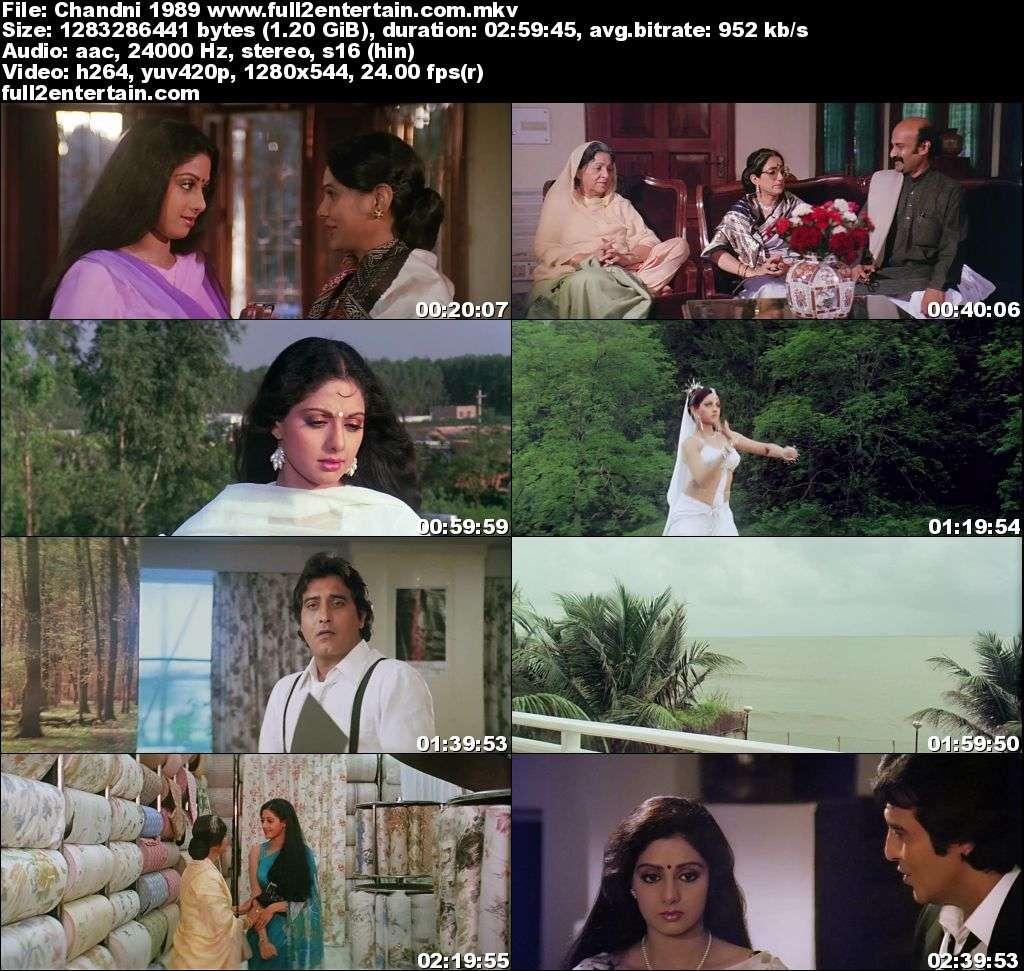 Chandni 1989 Full Movie Free Download HD