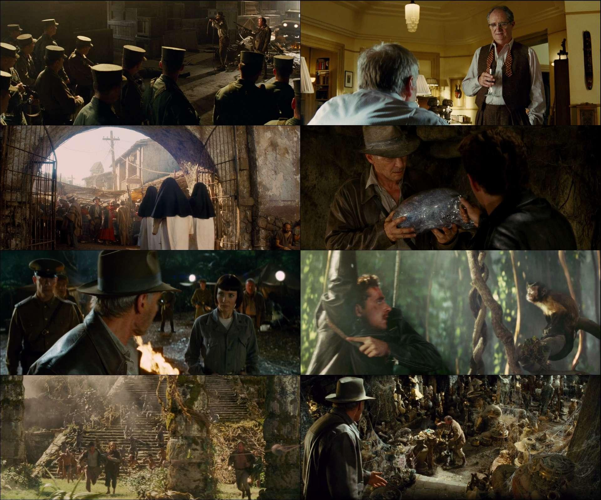 Indiana Jones ve Kristal Kafatası Krallığı (2008) filmini full türkçe dublaj indir