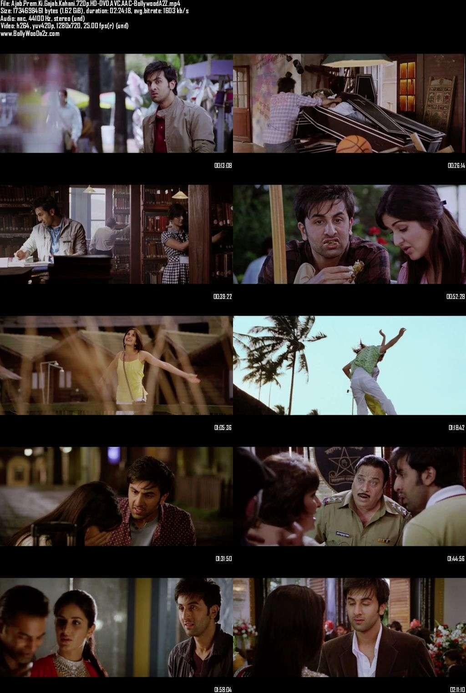Ajab Prem Ki Ghazab Kahani (2009) 720p - HD-DVDRip - AVC - AAC-Bollywooda2z