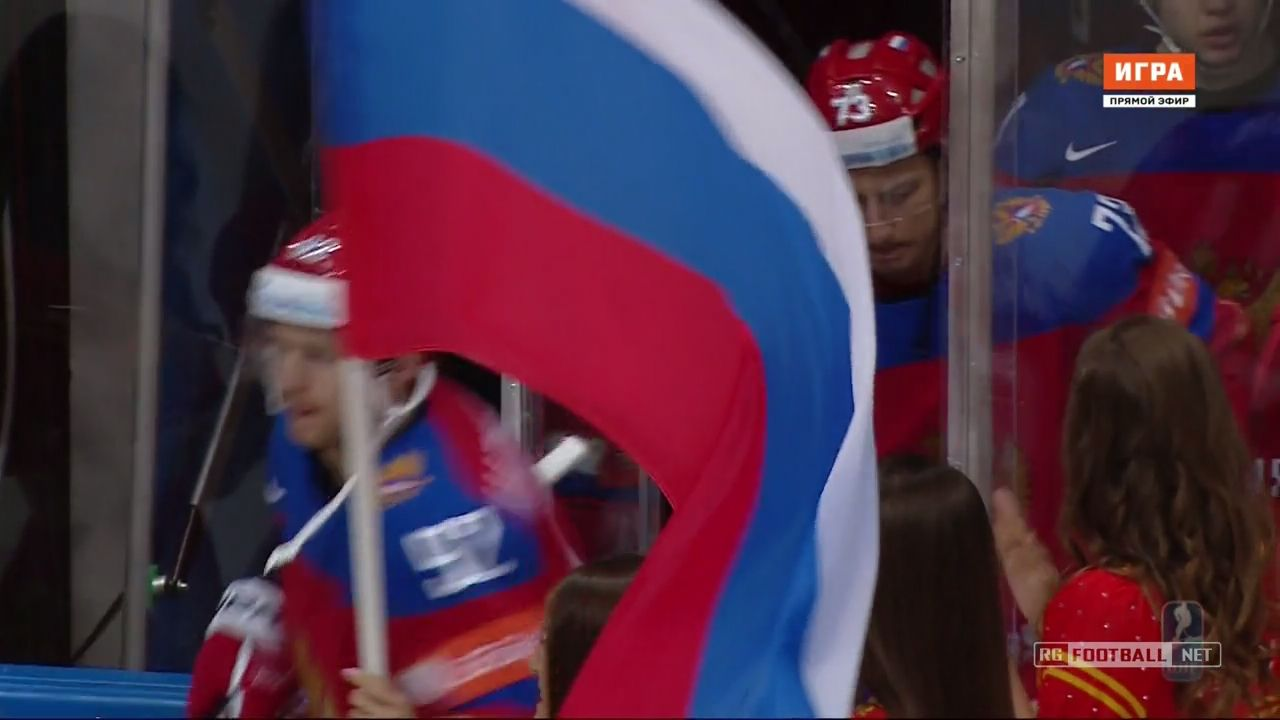 Хоккей. Чемпионат мира 2016. 1/2 финала. Финляндия - Россия | HDTVRip 720p | 50fps