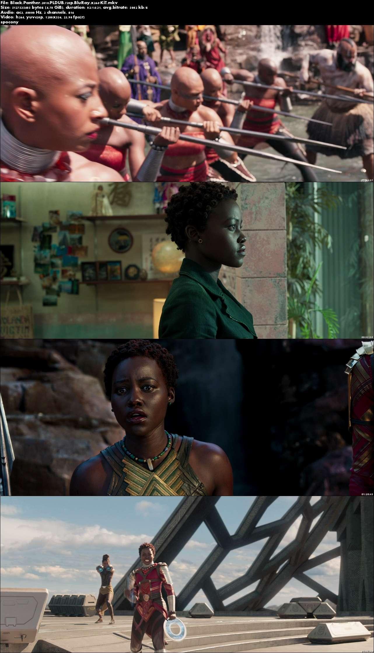 Czarna Pantera / Black Panther (2018) PLDUB.720p.BluRay.x264-KiT [Dubbing PL]