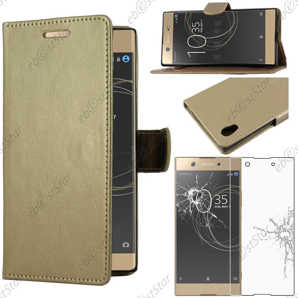 Housse-Etui-Coque-Portefeuille-Simili-Cuir-Sony-Xperia-XA1-Ultra