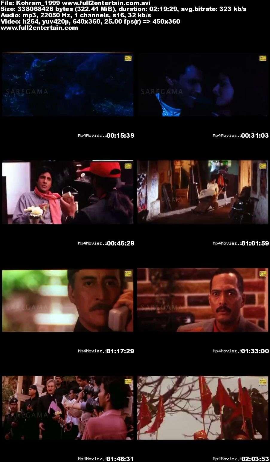 Kohram 1999 Full Movie Download Free in Dvdrip 480p