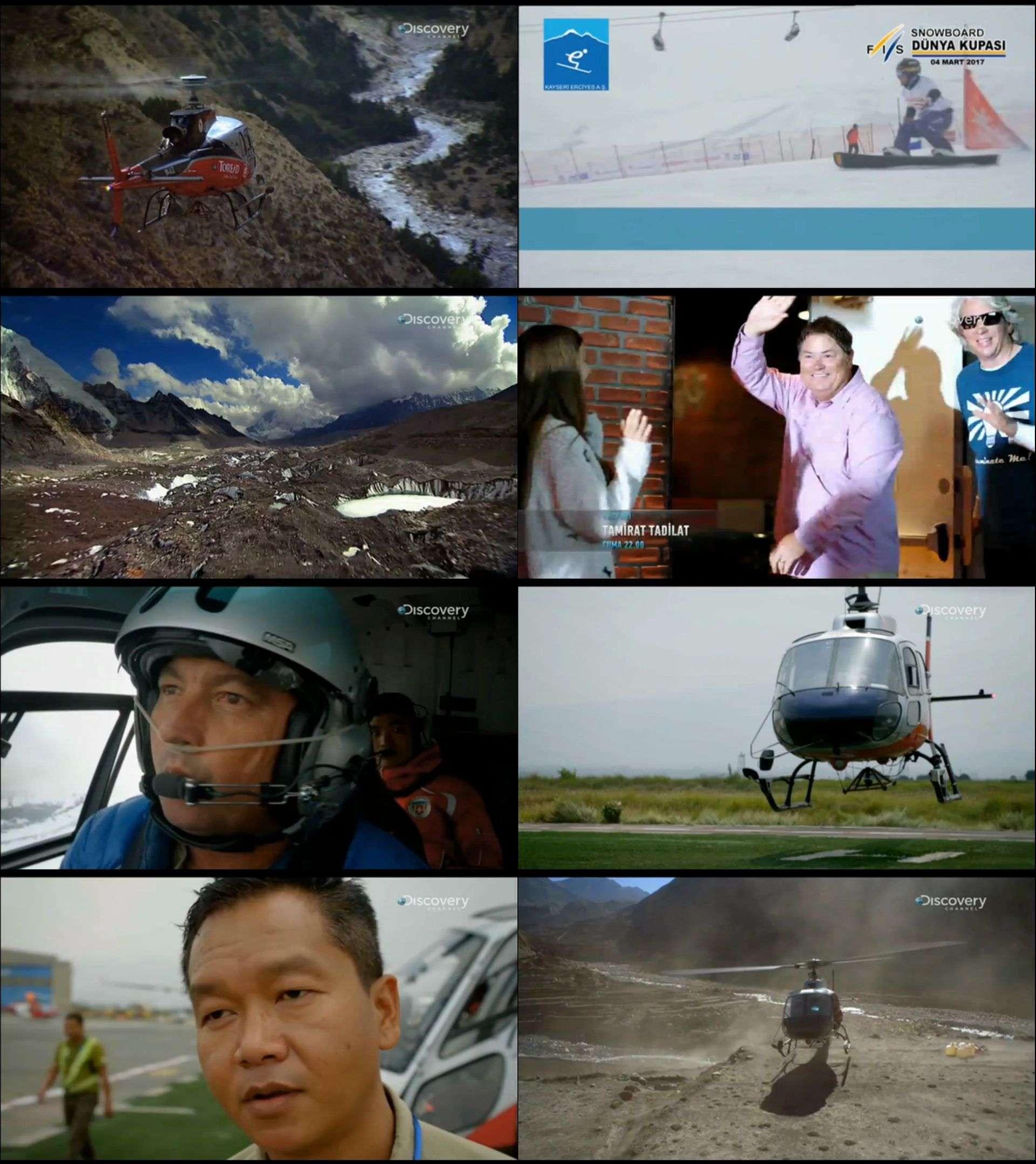 Everest Kurtarma Ekibi Yabancı belgesel serisi türkçe dublaj indir
