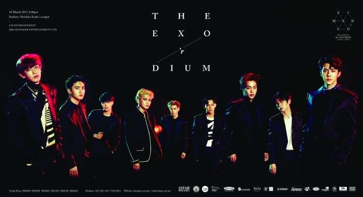 """EXO To Bring """"EXO PLANET #3 The EXO'rDIUM"""" To Kuala Lumpur"""