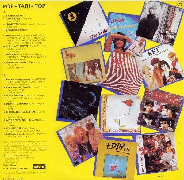 Various - Pop-Tari-Top '88