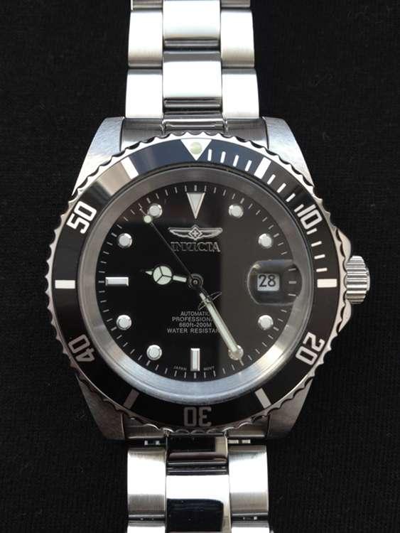invicta 8926 Pro Diver Coin von vorne