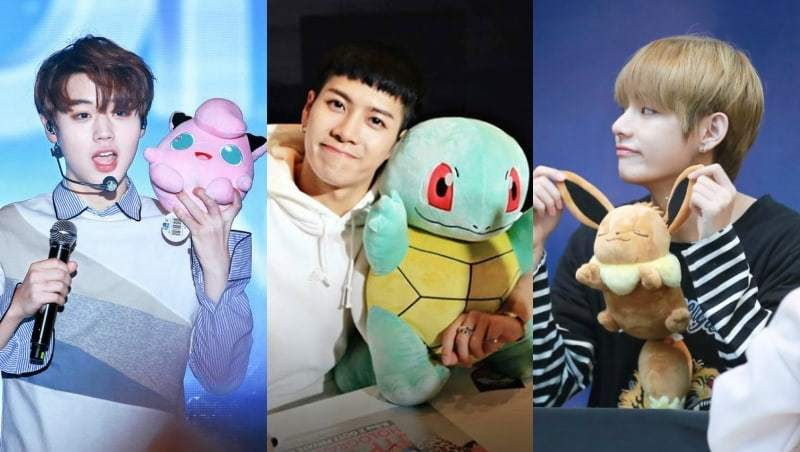 15 Male K-Pop Idols Who Resemble Pokémon