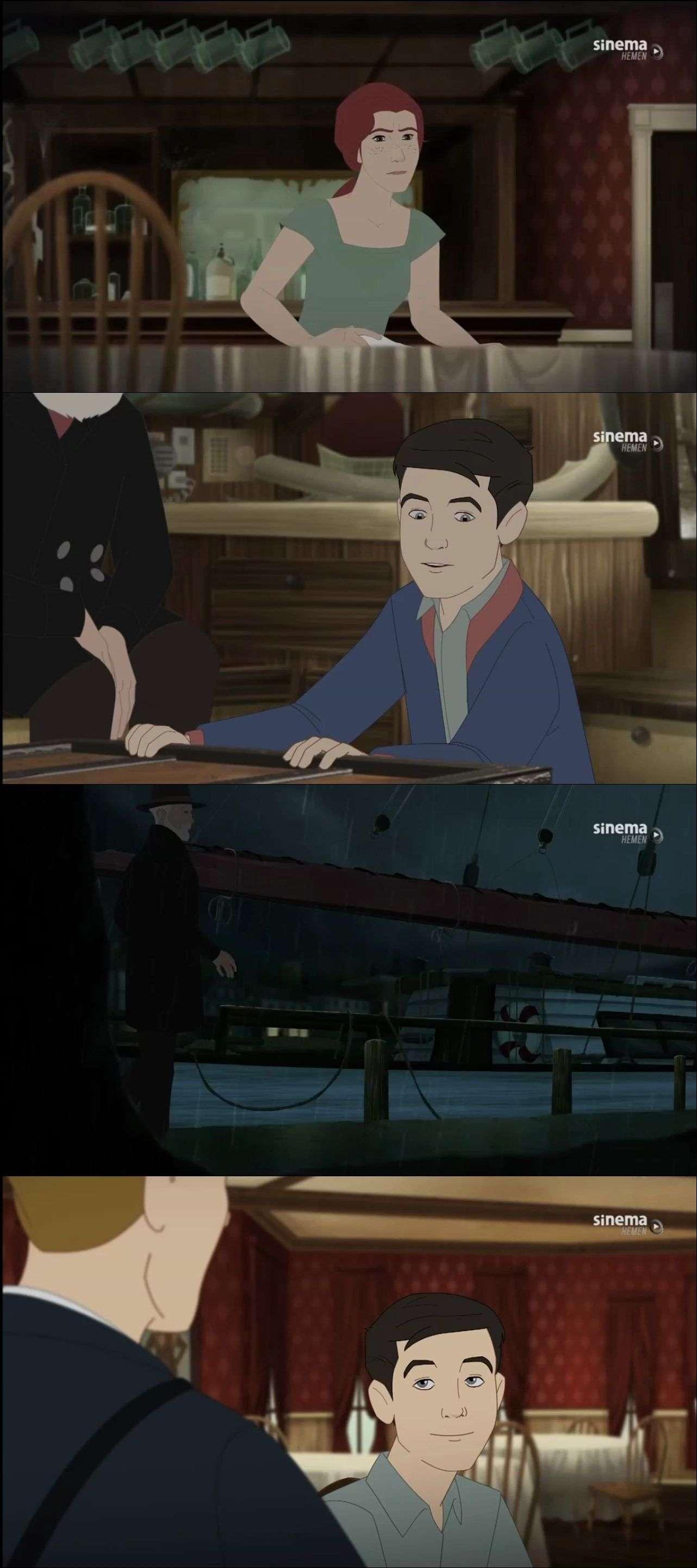 Korsanlar - Pirate's Passage (2015) türkçe dublaj animasyon film indir