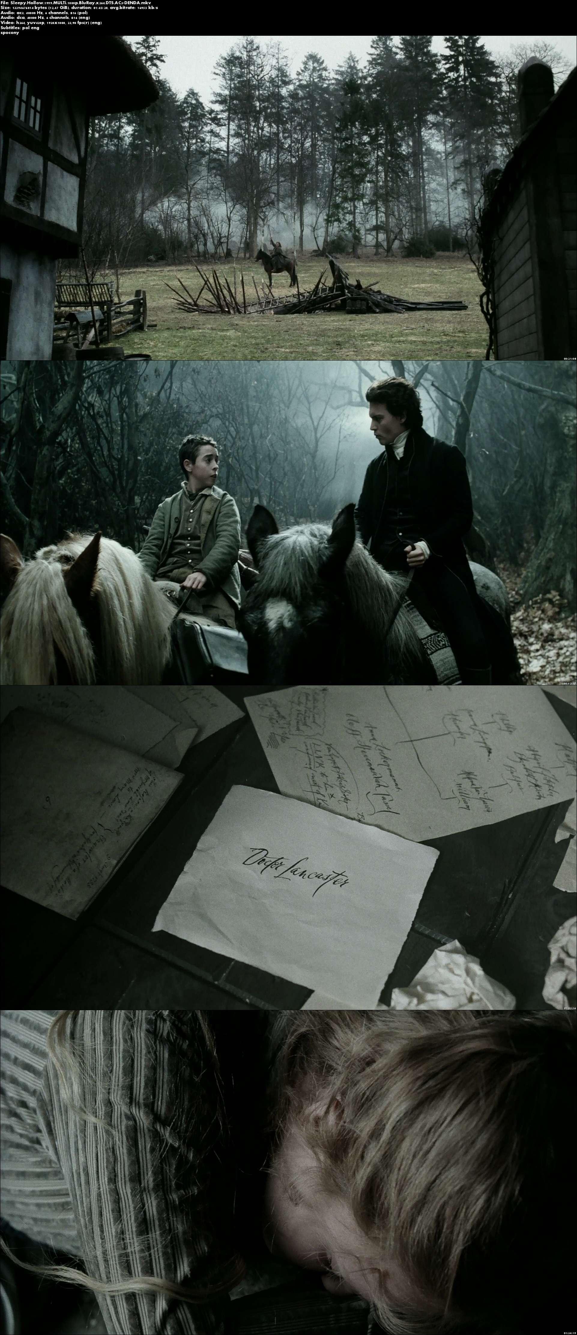 Jeździec bez głowy / Sleepy Hollow (1999)