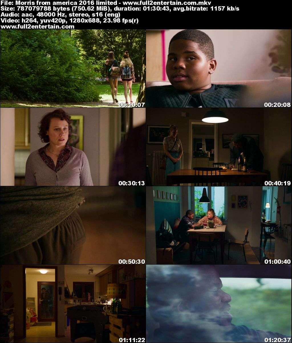 Morris from America 2016 Full Dvdrip Movie Download Avi
