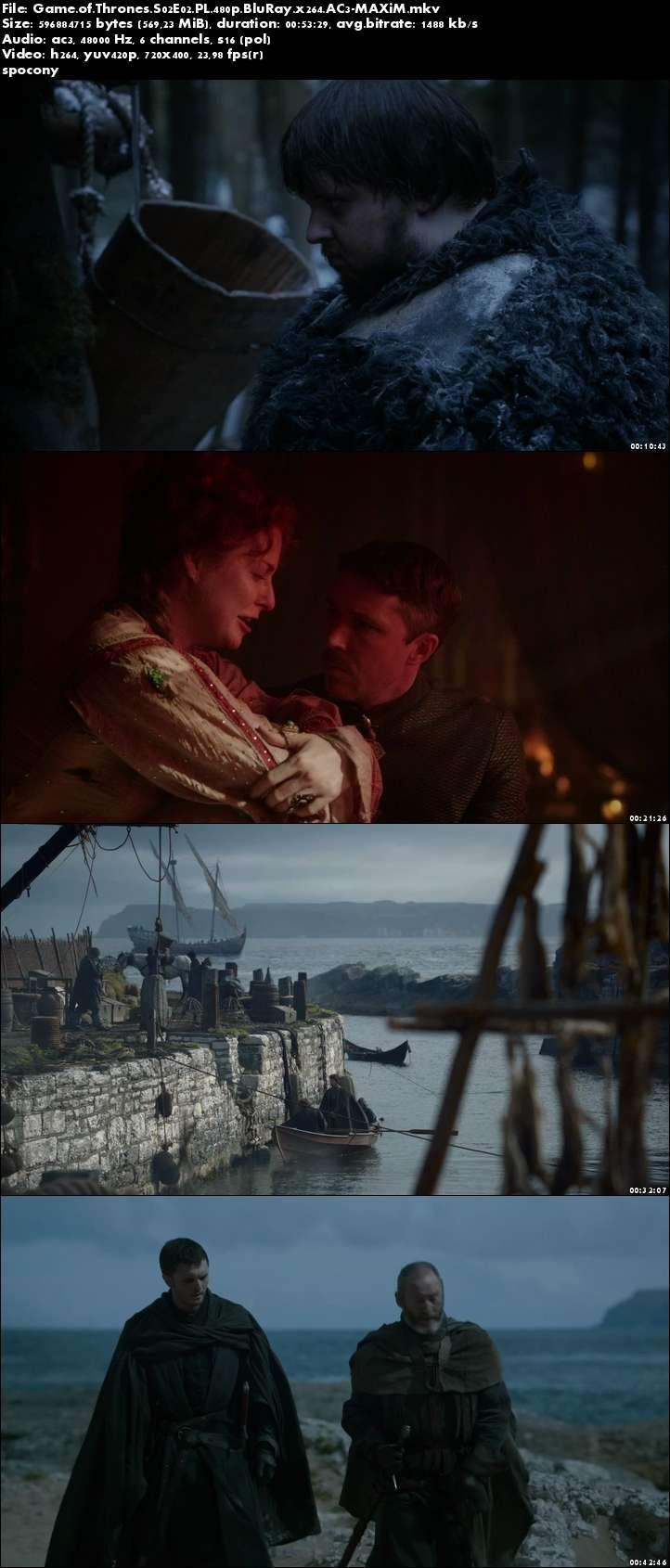 Gra o tron / Game of Thrones (2012) {Sezon 2} (Pełen sezon) PL.480p.BluRay.x264.AC3-MAXiM [Lektor PL]