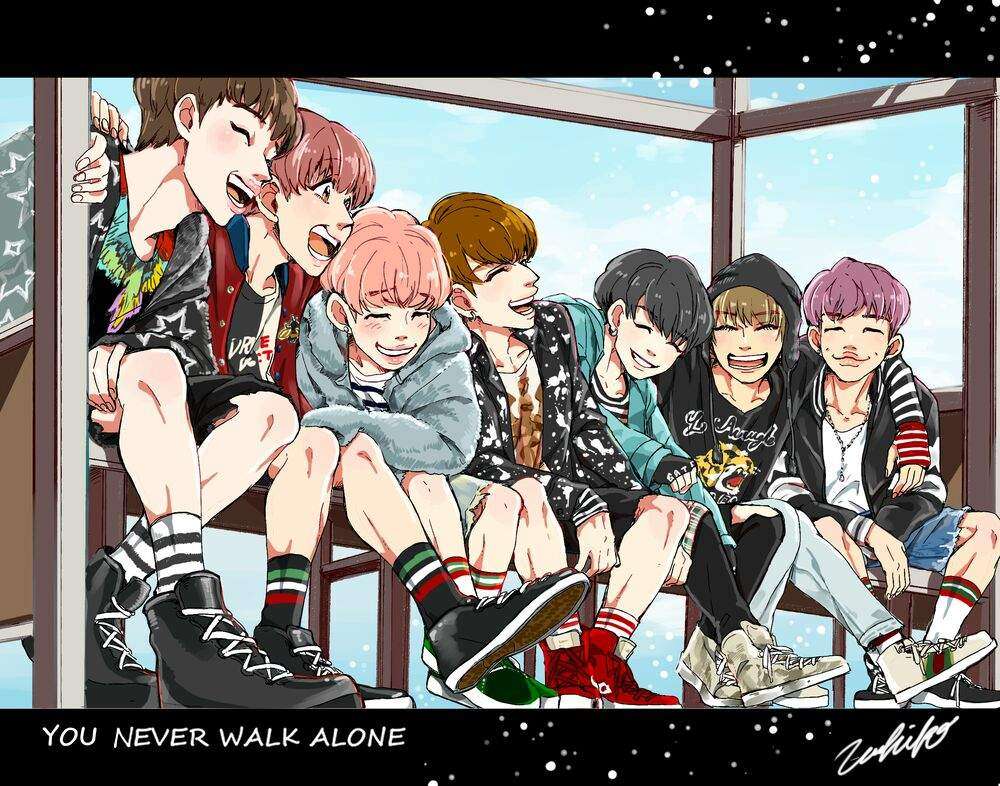 This Is Legitimately The Cutest BTS Fanart You've Ever Seen