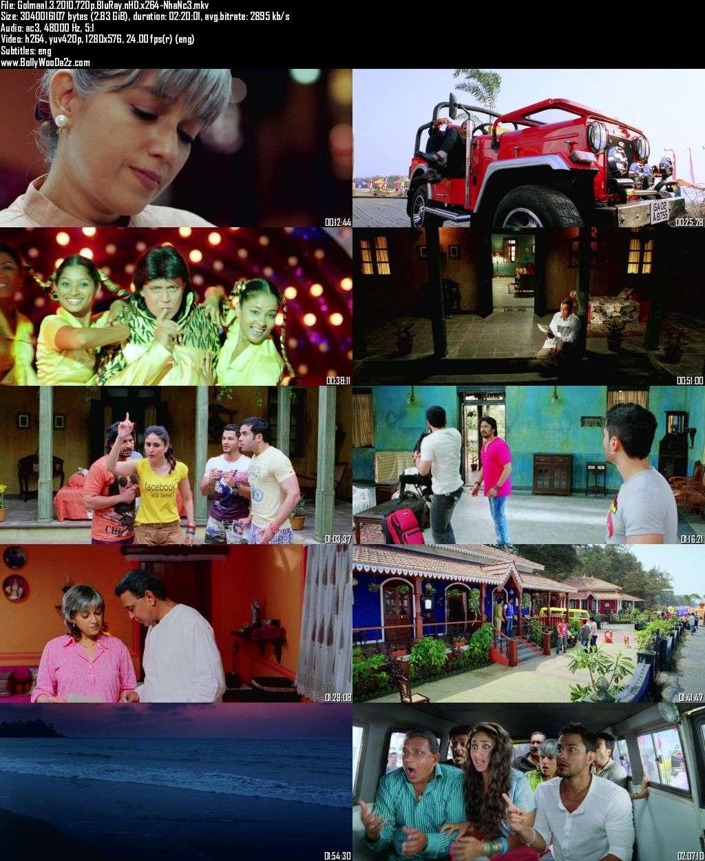 Golmaal 3 (2010) 720p - BluRay - x264 - DD5.1-NhaNc3