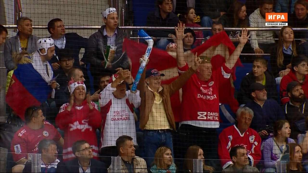 Хоккей. Чемпионат мира 2016. Группа А. 5 тур. Дания - Латвия [13.05]   HDTVRip 720p   50fps