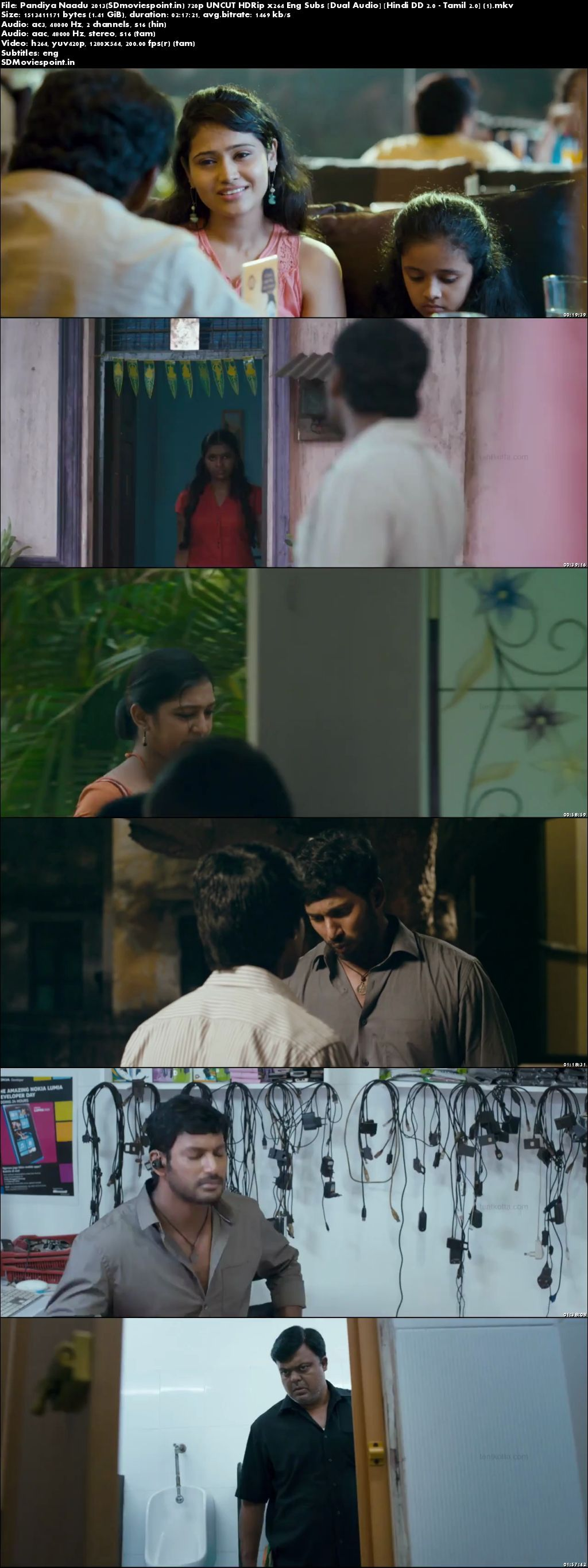 Screen SHots Pandiya Naadu 2013 Full Hindi Movie Download Dual Audio Free 720p