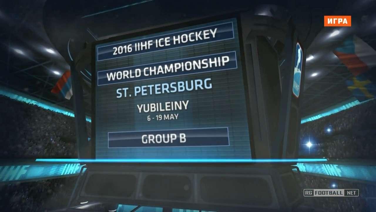 Хоккей. Чемпионат мира 2016. Группа B. 4 тур. Финляндия - Венгрия [11.05] | HDTVRip 720p | 50fps