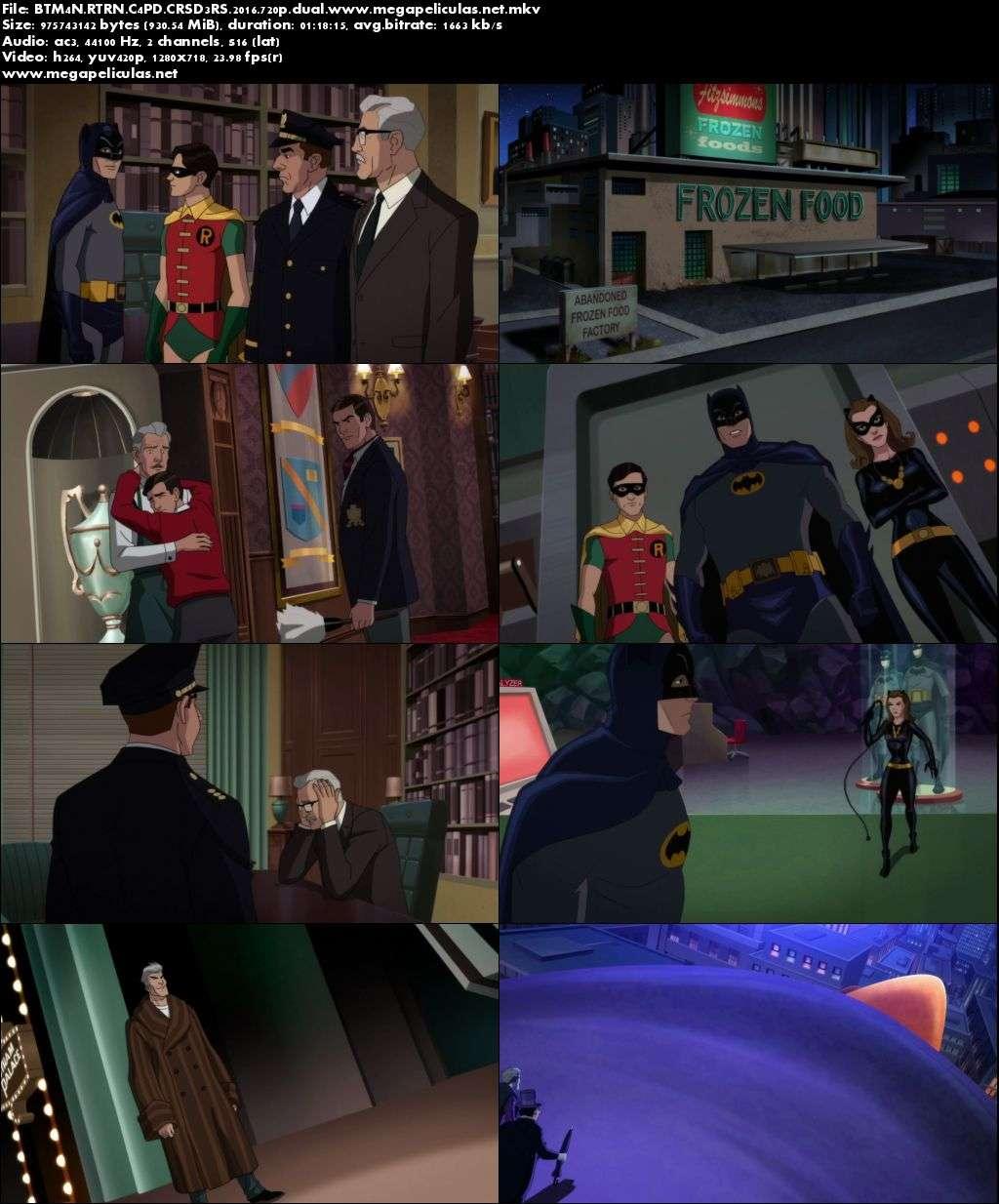 Capturas de Batman: El Regreso Del Enmascarado (2016) [BrRip 720p][Latino]