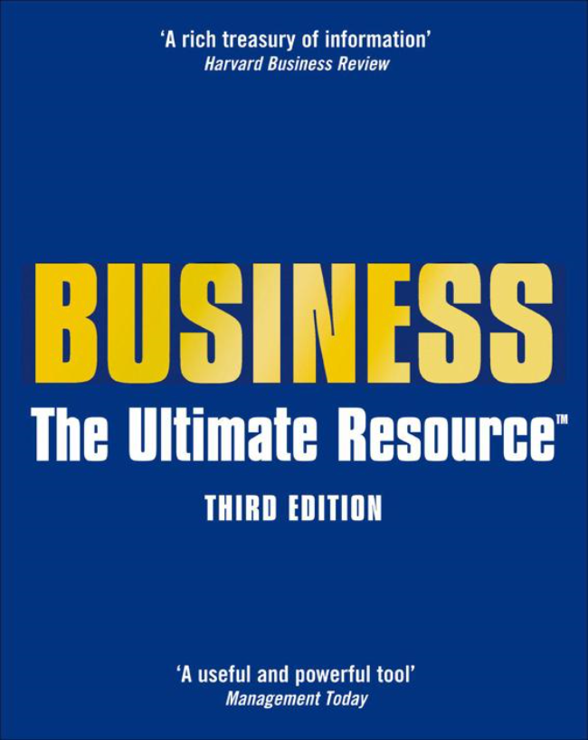 Jonathan Law – Business: The Ultimate Resource