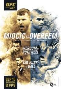 Смешанные единоборства. UFC 203: Miocic vs. Overeem. Main Card [10.09] | HDTVRip