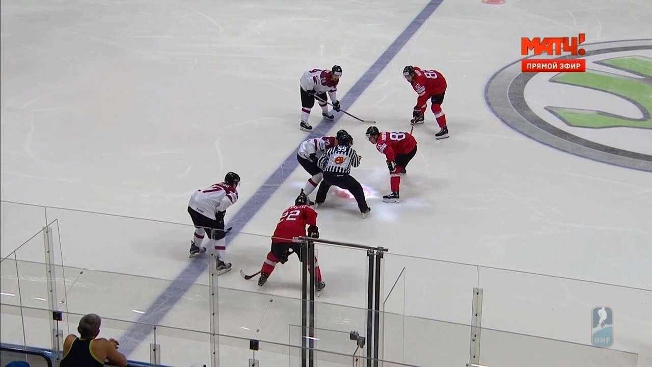 Хоккей. Чемпионат мира 2016. Группа A. 4 тур. Швейцария - Латвия [11.05] | HDTVRip 720p | 50fps
