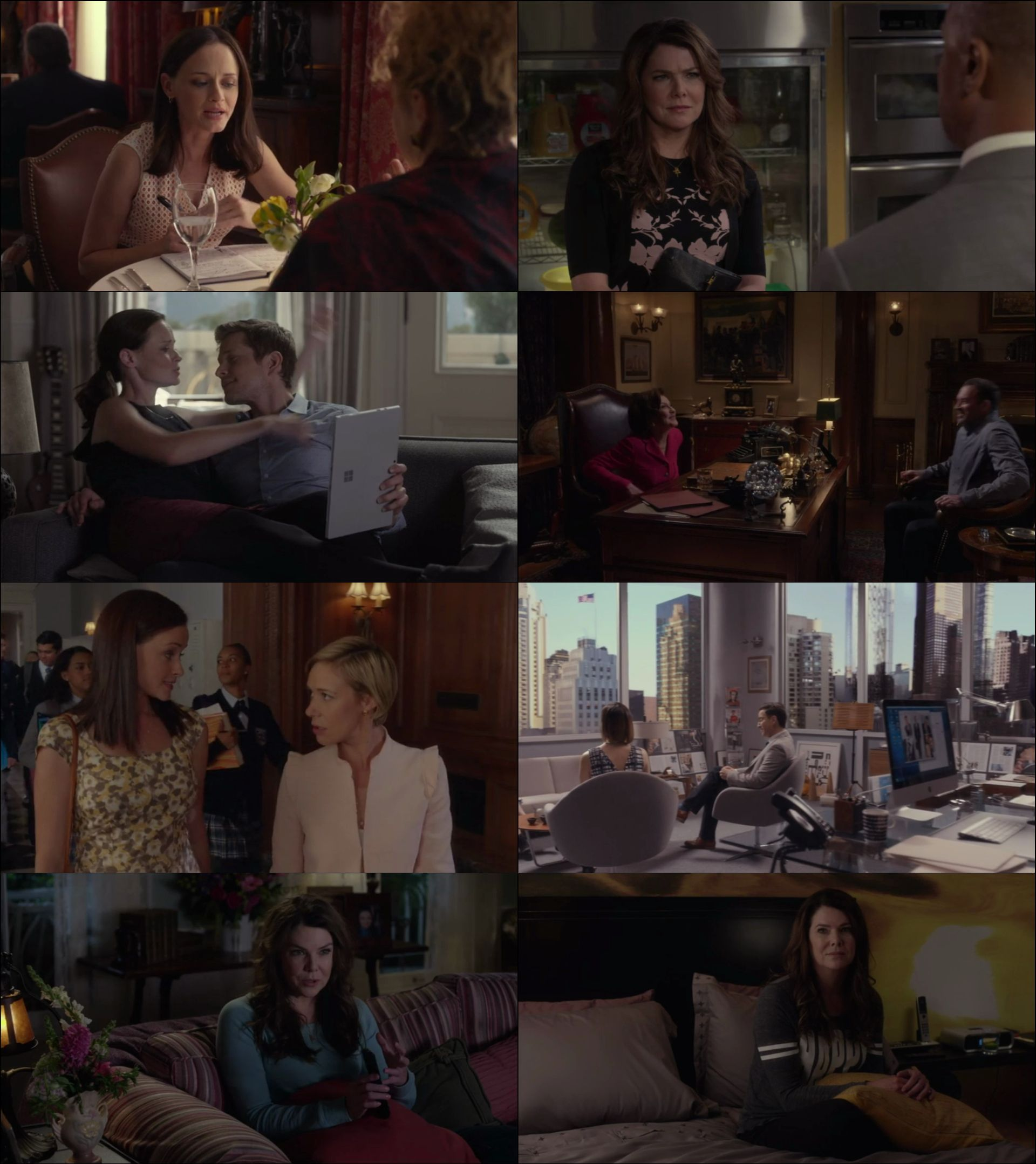 Gilmore Girls: A Year in the Life Mini Dizi (2016) türkçe dublaj dizi indir