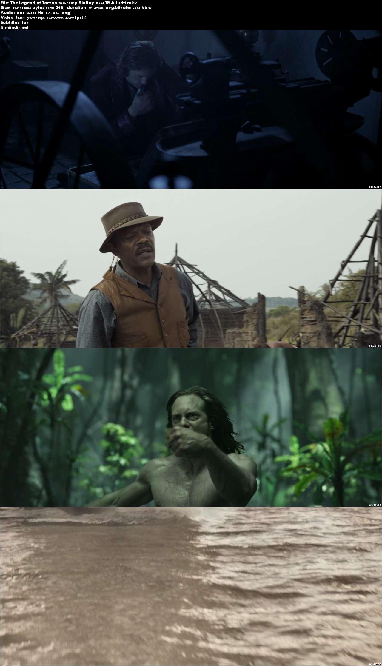 Tarzan Efsanesi (2016) hd türkçe altyazılı indir