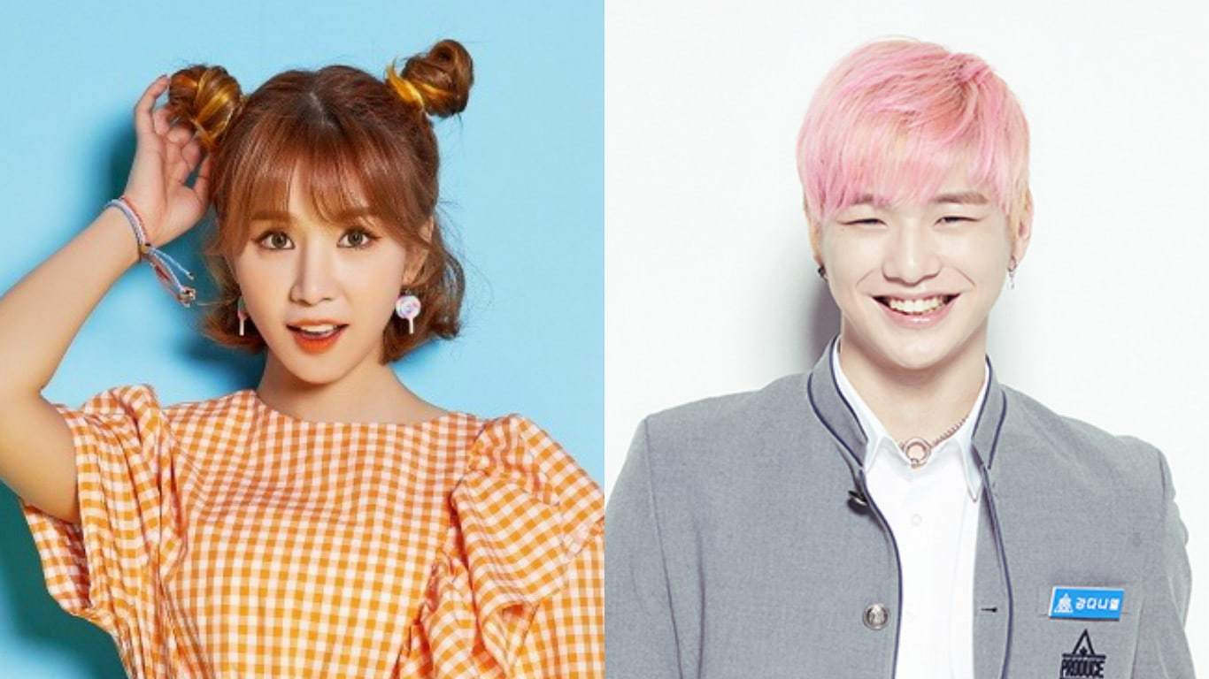 "FIESTAR's Cao Lu Shows Support For Her Former Backup Dancer, ""Produce 101 Season 2"" Trainee Kang Daniel"